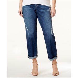 Michael Kors Plus Size 'Dillon' Boyfriend Jeans